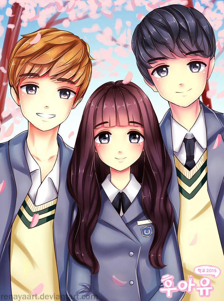 Who are You: School 2015 Fanart by RenayaArt