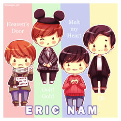 FanArt: Eric Nam by RenayaArt