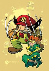 Mario and Princess by basicnoir
