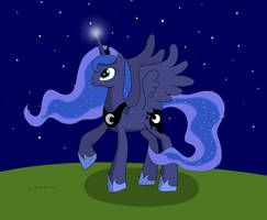 Princess Luna by Cloudy95
