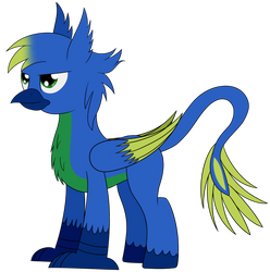 My Hipogryph, Silian by Cloudy95