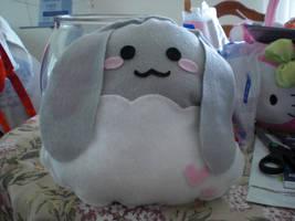 Bunny plushie by chococat830