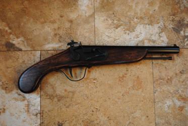 Flintlock Pistol by fixinman