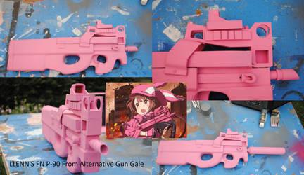 LLENN's P 90 from Alternative Gun Gale by fixinman