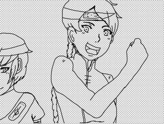 Naruto Oc Art Trade by iloveonedirection999