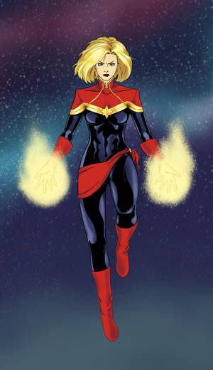 Captain Marvel by Mistery12