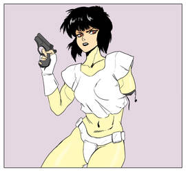 Major Kusanagi by Mistery12