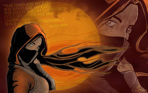 ninja girl by funkyf1ght