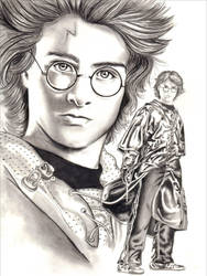 Harry Potter Sketch by Eruadan