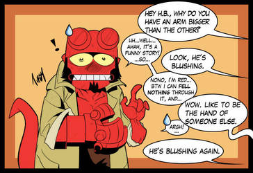 Hellboy colored by Tursy