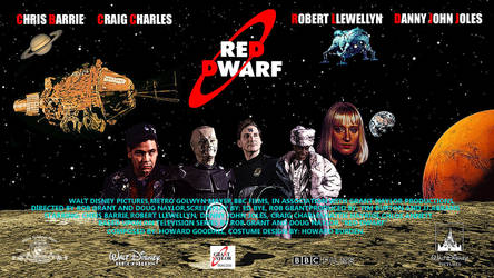 Red-Dwarf: The Motion Picture Fan Poster by maskedlion3