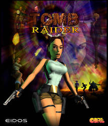 Tomb Raider 1996 20 Years Poster by maskedlion3