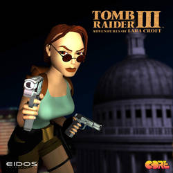Tomb Raider III 20 years Poster by maskedlion3