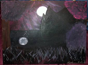 Moonlit Scene by KatharineRose5