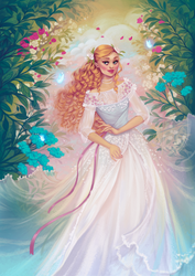 Whimsical Illustration Commission by andrada-art