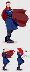 The Cloak of Levitation by Artisticoookie