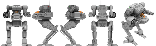 Battletech / MechWarrior Stormcrow by lady-die