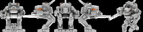 MechWrrior / BattleTech - Uller / Kit Fox by lady-die