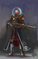 Stygies VIII Skitarii Ranger by Mizoro