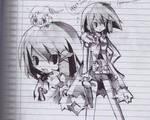 Asagi Asagi Sketch by craytm