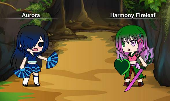 Hate!Aurora vs Harmony by BlazingRebecca