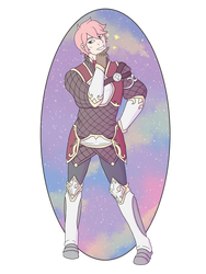 Gift: Luke the sparkle prince by LadyLoriel