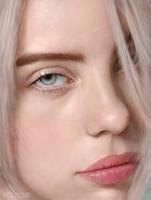 Billie Eilish's Portrait by Vouldir