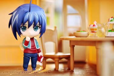 Dinner with me? by nikicorny