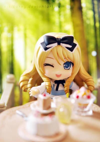 Alice's Tea Party by nikicorny