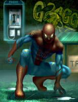 Spider-man by JonathanGragg
