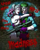 Harley and Joker by JonathanGragg