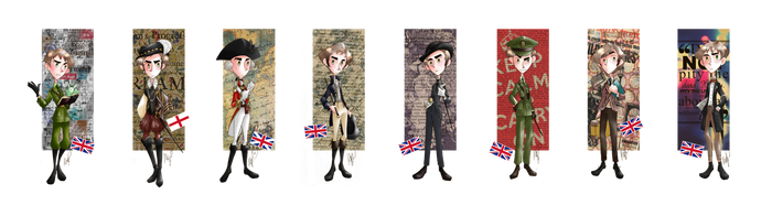 Fashion History - England by SailorX2