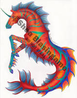 Tropical Hippocampus II by bsbhorsegirl