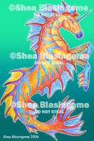 Tropical Hippocampus by bsbhorsegirl