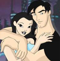 Terry and Dana - Batman Beyond by mishieru
