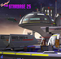 Greetings from Starbase 25 by RobCaswell