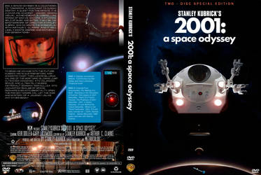 2001 2 Disc Dvd Cover Art By Robcaswell On Deviantart