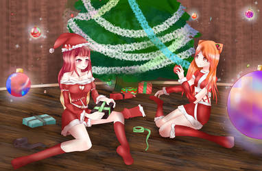 Collab-Christmas! by Clara-chanv