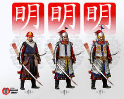 Ming Dynasty Soldiers by dorianclock