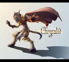 Chrysalid : Draenei Chaman by fredconv