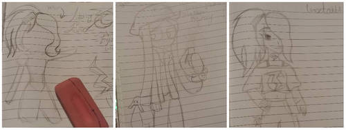 BNHA Ocs Sketches by Okay-Google