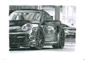 porsche 997 turbo by przemus