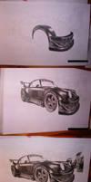 Porsche RWB W.I.P by przemus