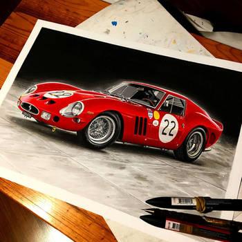 Ferrari 250GTO by przemus