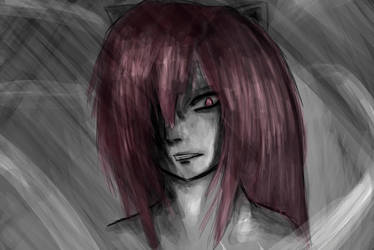 Lucy (Elfen Lied) - Rage by Darkwolfnekoro
