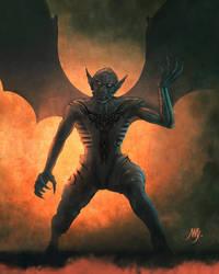 Demon by VladaART
