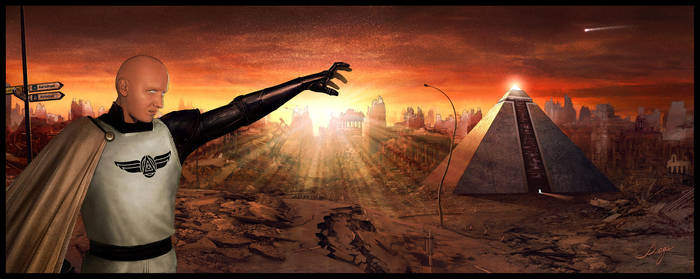 Phoenix Redux - Whisper of the Golden Dawn by VladaART