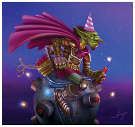 Goblins vs Gnomes - Megabomb Surprise by VladaART