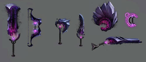 Mists Weapons Idea by NickWiley