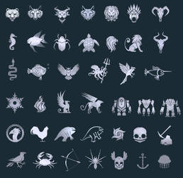 Emblems by NickWiley